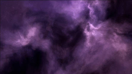 Purple Nebula Background by MarkKingsnorth