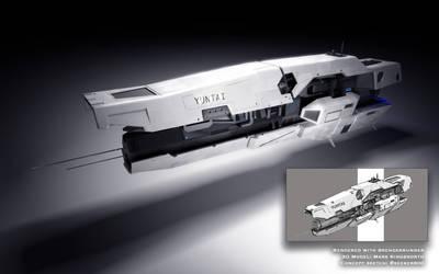 3D Ship Concept: The Yuntai