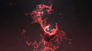 Nebula with Particles