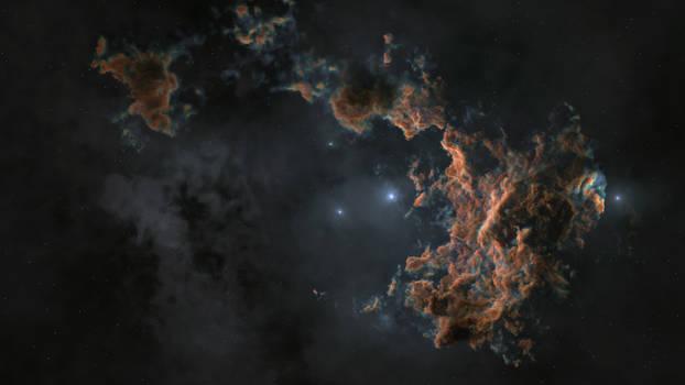 Nebula Generated in Houdini 3