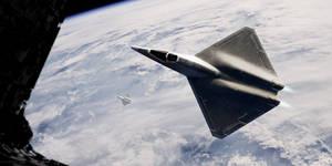 Single Stage to Orbit: 3D Sci Fi Jet Model