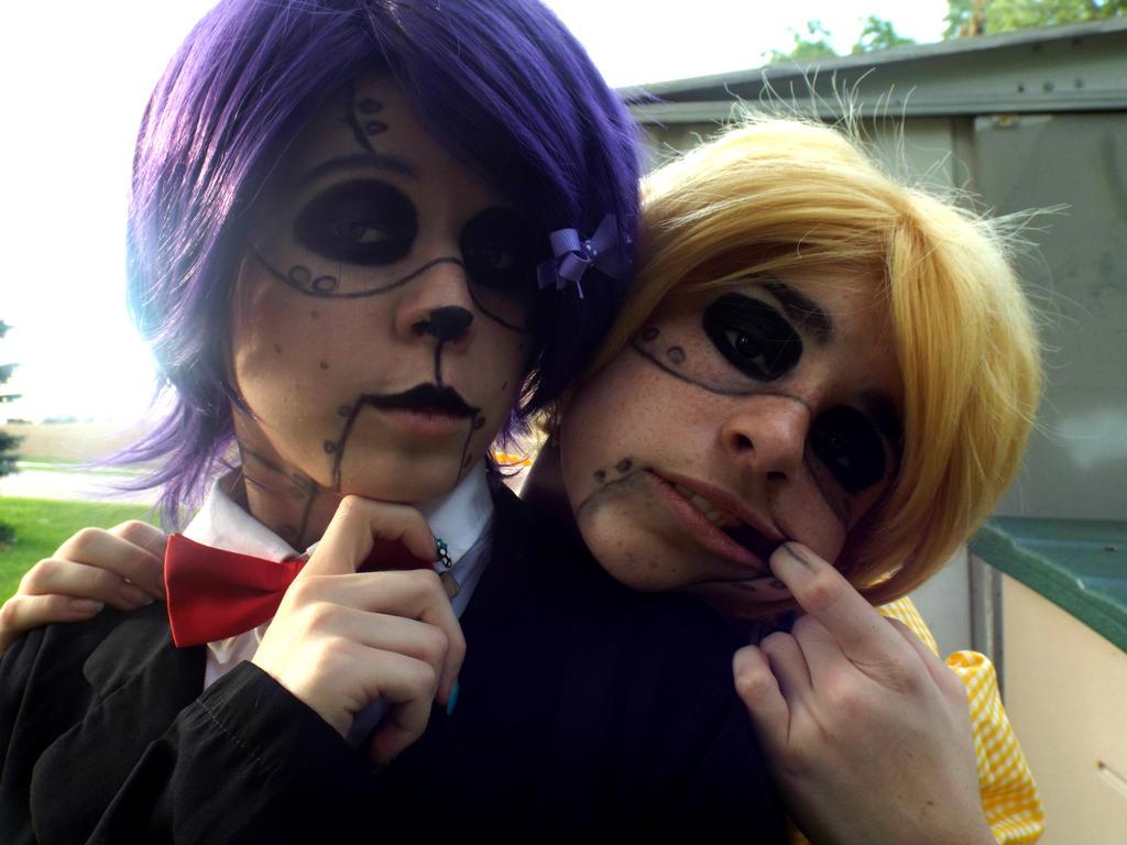 FNAF - Bonnie and Chica (1) by FantaliaEPGC on DeviantArt