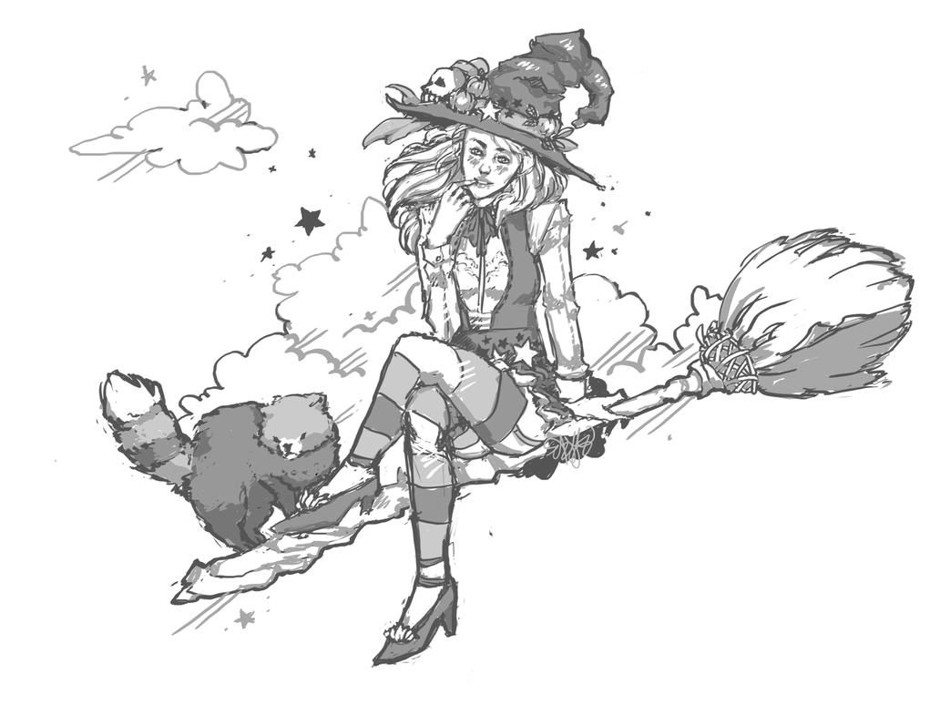 Black Desert Online: Witch by tuffsteinbruchhaus
