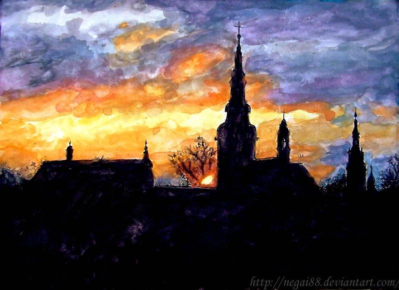 Kalisz The Sunset By Kasunayo On Deviantart