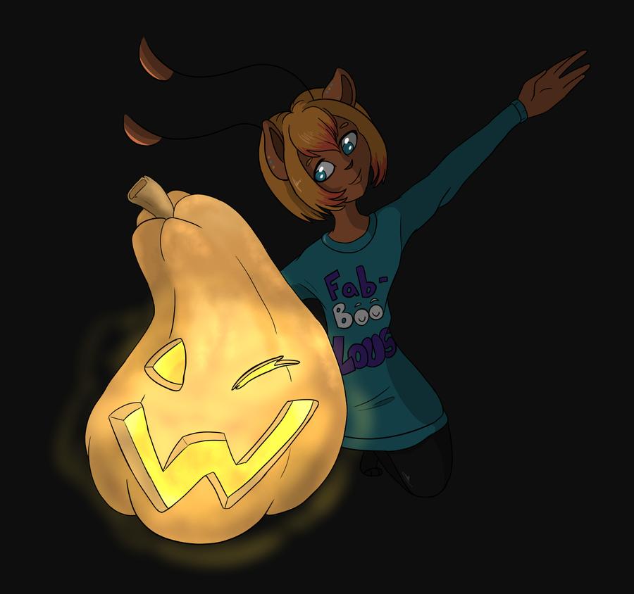 Jenna's Pumpkin Part2 by yellowy-yellow