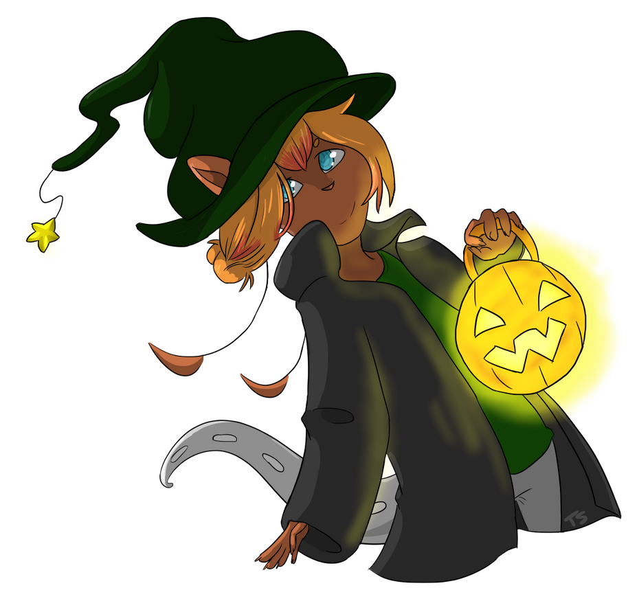 Jenna's Halloween by yellowy-yellow