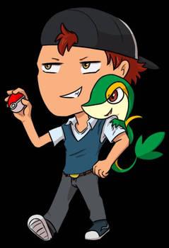 Pokemon Trainer Chibi