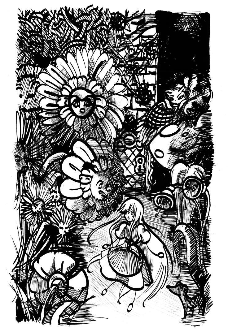 Alice in Wonderland by Reoa
