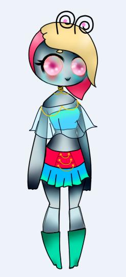 Alien Girl Adoptable 2 by XMidnight-NightmareX
