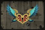 Flying Guardian - Tattoo Design