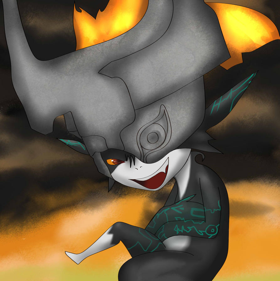 Midna - TWILIGHT PRINCESS by Puukocho