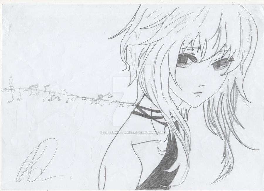 Cool Girl Anime Hair by Anastasia-Smile on DeviantArt