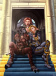 Friends in Stormwind by PersonalAmi