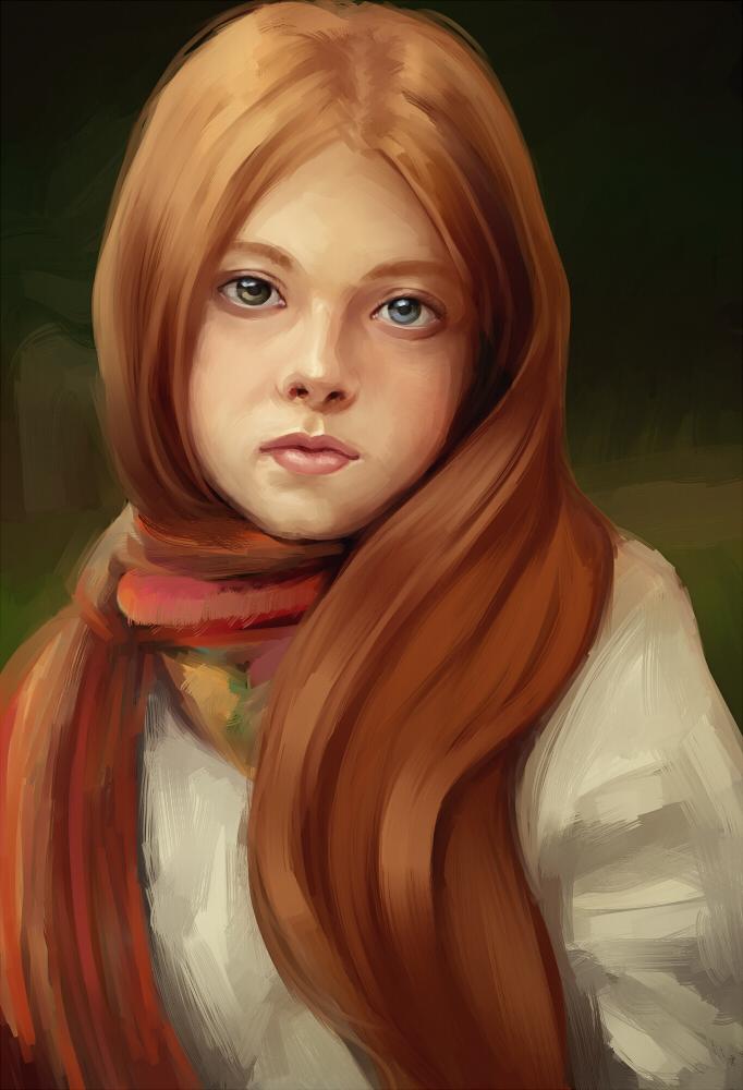 Random girl 6 by PersonalAmi
