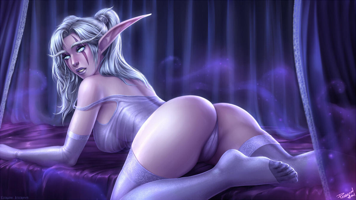 Blood elf and dreani bed porn lesbian softcore pictures