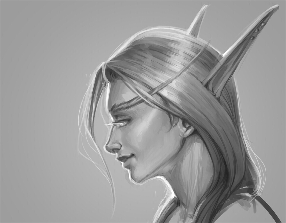 blood elf by PersonalAmi