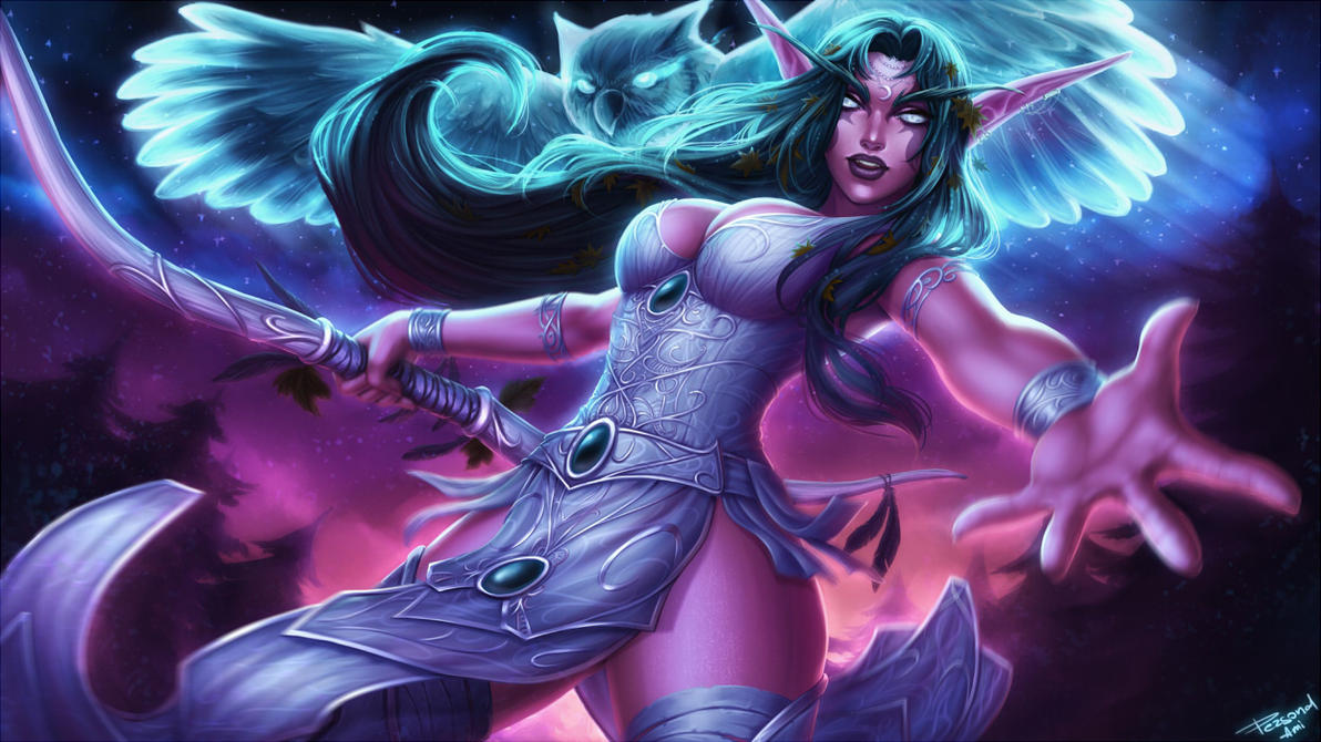 Sexy night elves adult videos