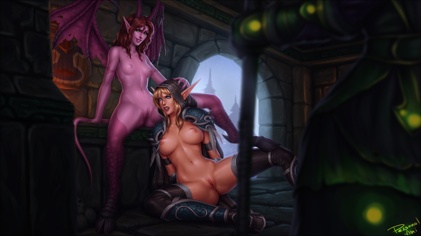 Draenei and undead fatten succubus porn sex pictures