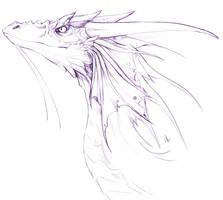 dragon sketch by Gabeszntx