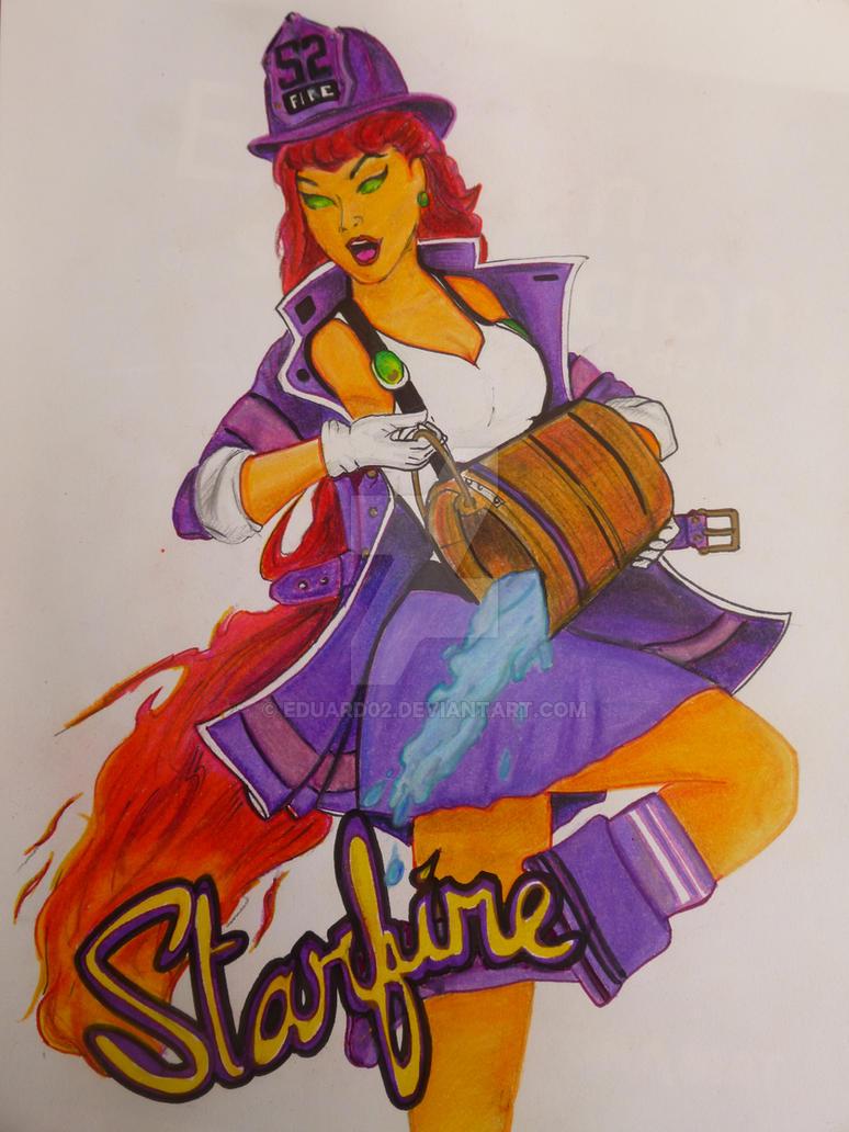 Starfire - Dc Bombshell by eduard02
