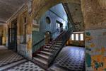Beelitz III - Stairs by FotoRuina