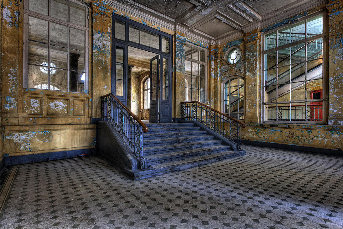 Beelitz X Entry Hall Badehaus by FotoRuina