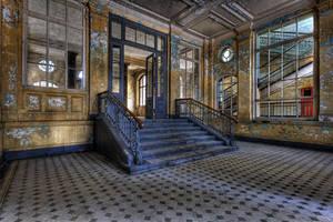 Beelitz X Entry Hall Badehaus by FotoRuina