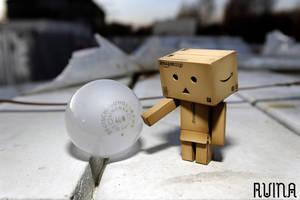 Danbo bulb by FotoRuina