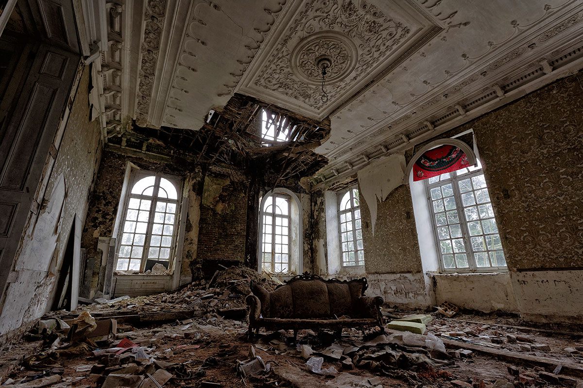 Lost Place Chateau Beauty Decay by FotoRuina