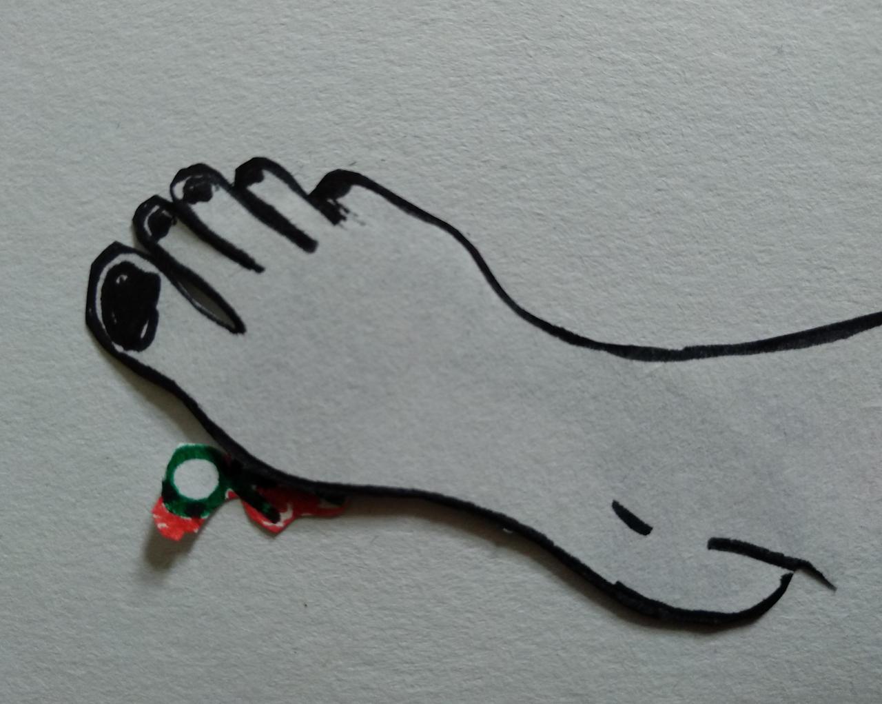 Barefoot crush