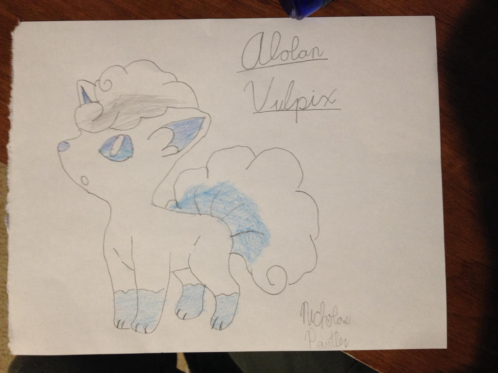 Alolan Vulpix by Smart-Guy0365