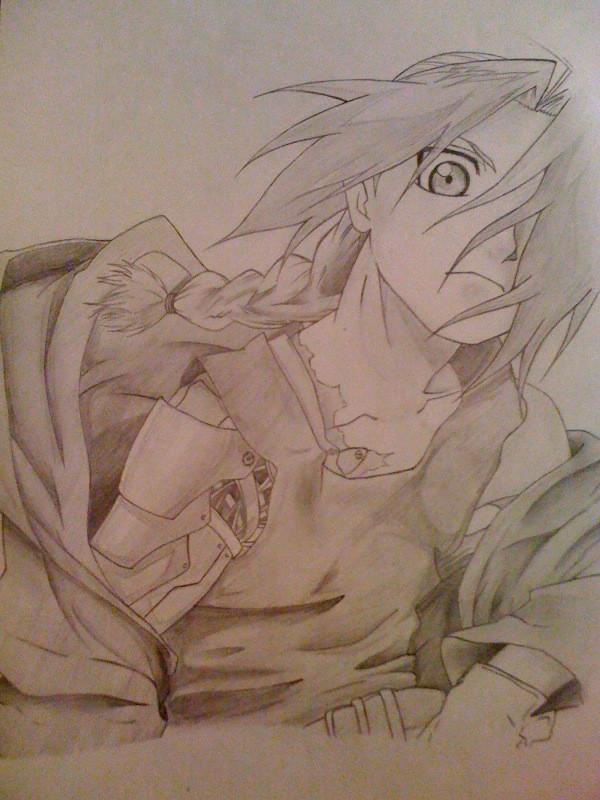 Edward Elric by Kurogane7856