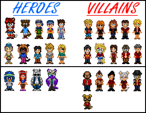 Heroes vs. Villains in SFC by Kirby-Kid ...  sc 1 st  DeviantArt : heroes vs villains costume ideas  - Germanpascual.Com