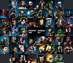 Ultimate MvC3 Roster