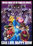 You got a Mega Man in my Smash Bros.