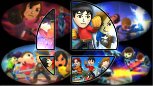 Ready to Smash: Mii Fighters by Kirby-Kid