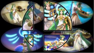 Ready to Smash: Palutena by Kirby-Kid