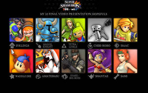 Month of Smash List: The Final Wishlist by Kirby-Kid