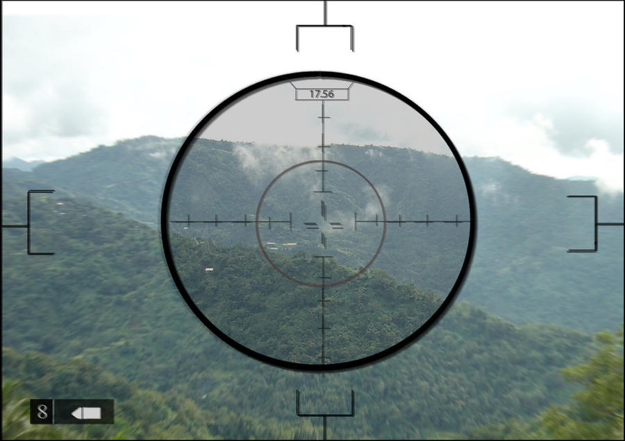 Sniper Aim Sticker Image - ClipArt Best