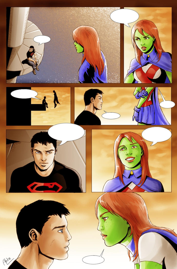 Miss Martian SuperBoy - 03 by Drakyx on DeviantArt