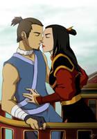 Sokka and Azula by Drakyx