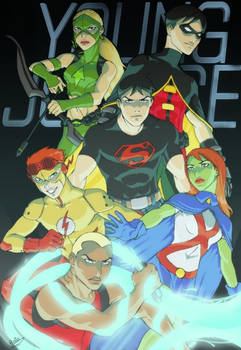 Young Justice by Drakyx