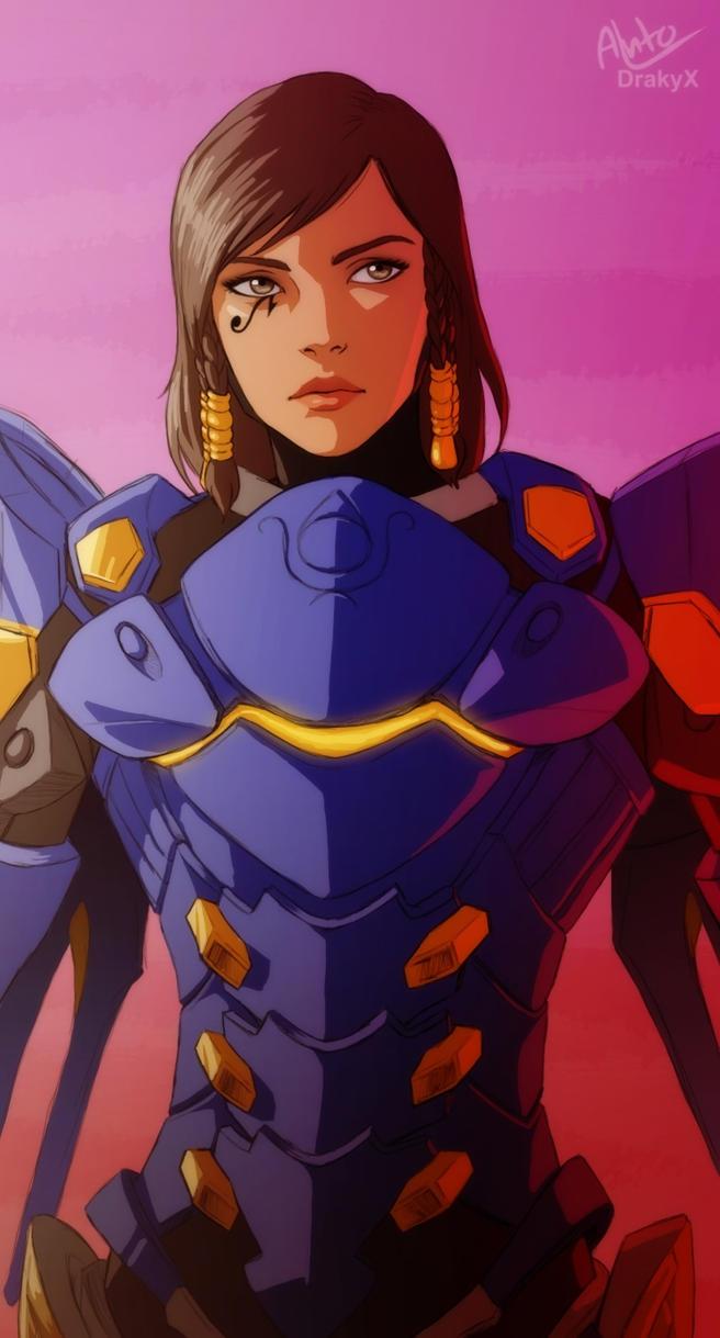 Pharah - Overwatch by Drakyx