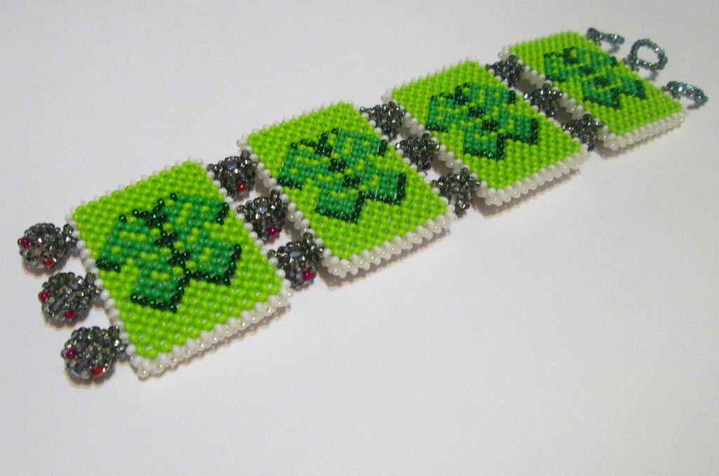 playing card bracelet (back) by AngelinaKrasnaya