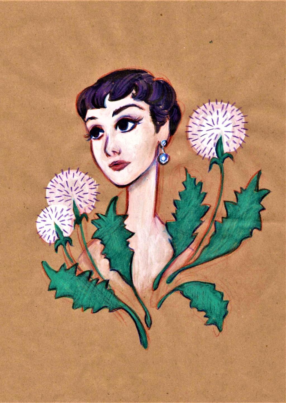 Audrey by AngelinaKrasnaya