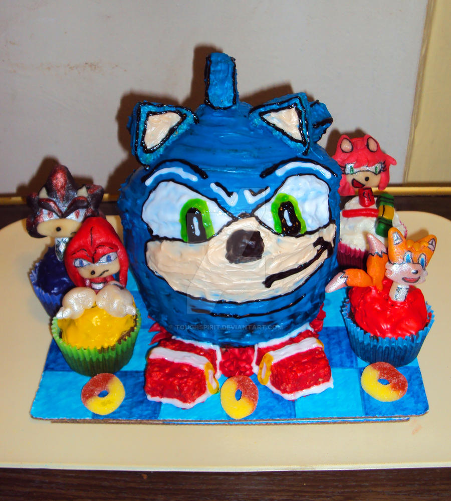 Where To Buy Sonic The Hedgehog Birthday Cake
