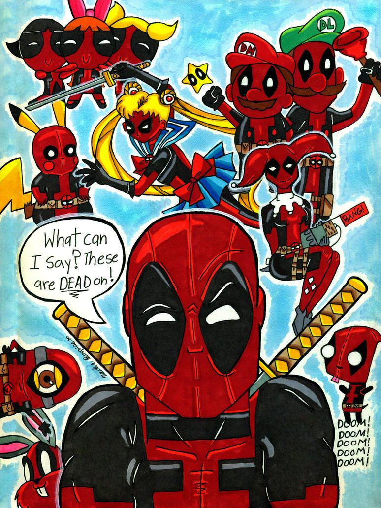 Deadpool-Dead On by ToughSpirit