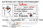 Latias Chibi License