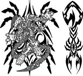 scorpion by sidewinder72