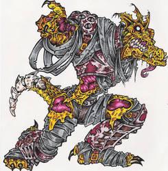zombie dragon by sidewinder72